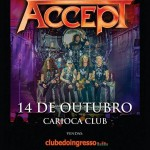 "ACCEPT - ""THE RISE OF CHAOS WORLD TOUR 2018"""