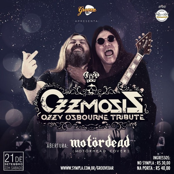Ozzmosis - Ozzy Osbourne Tribute no Groove Bar Salvador
