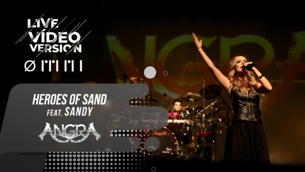 Angra Heroes of Sand feat Sandy