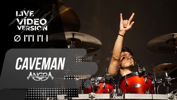 Angra Caveman Live Video